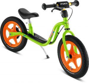 Rowerek biegowy Puky LR 1L Br zielono-pomarańczowy