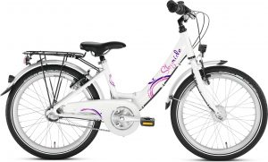 Rower dziewczęcy Puky Skyride 20-3 alu biały