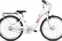 Rower dziewczęcy Puky Skyride 24-3 biały
