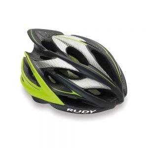 Kask rowerowy Rudy Project Windamx grafitowo-zielony